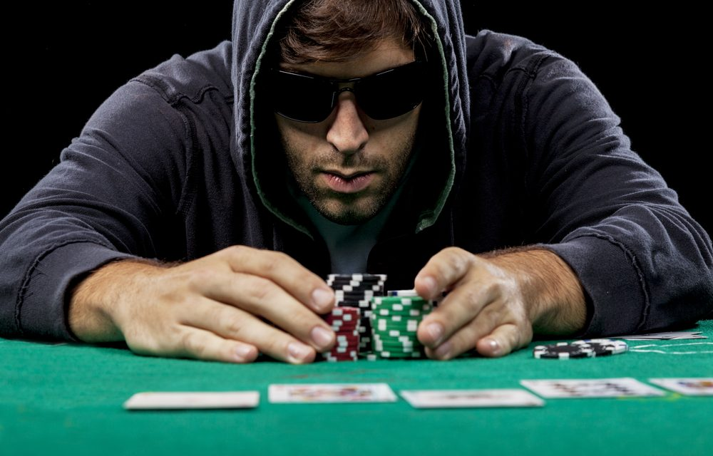 manipuler les jetons de poker