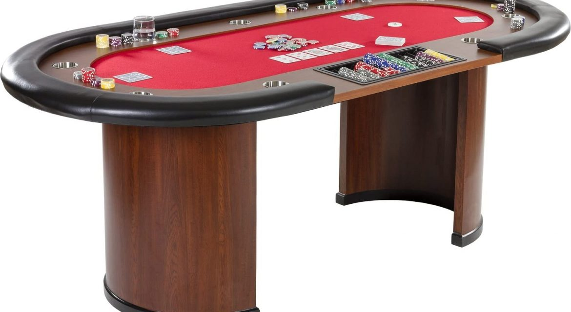 Entretien de la table de poker