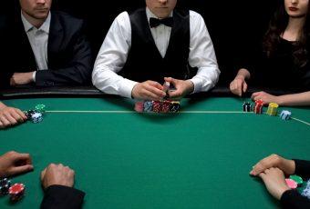 Première utilisation de la table de poker
